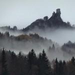 Руины замка Флоссенбюрг в Германии