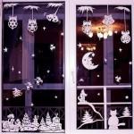 Украшаем окна к празднику