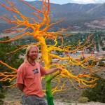 Штат Колорадо. Ландшафтное творчество художника