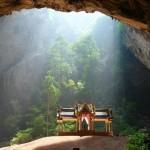 Павильон Kuha Karuhas в пещере